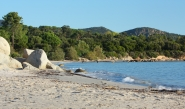 une autre plage de Sainte Lucie de porto Vecchio
